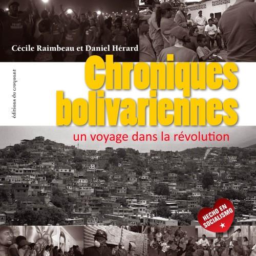 libro Chroniques Bolivariennes de Cecile Raimbeau Daniel Herard